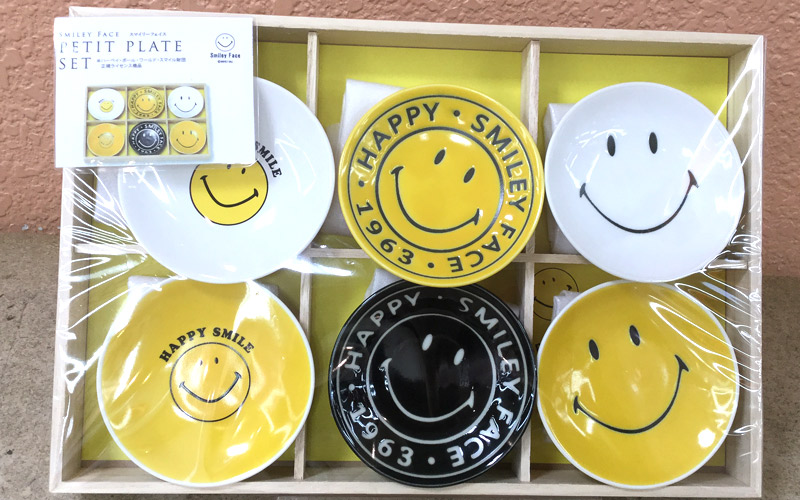 Smiley Face プチプレートセット