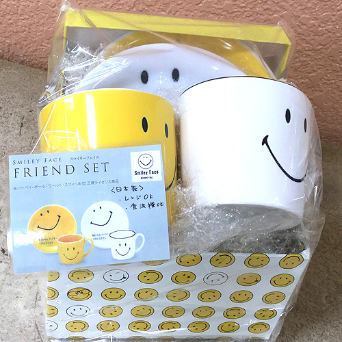 Smiley Face ペアマグセット